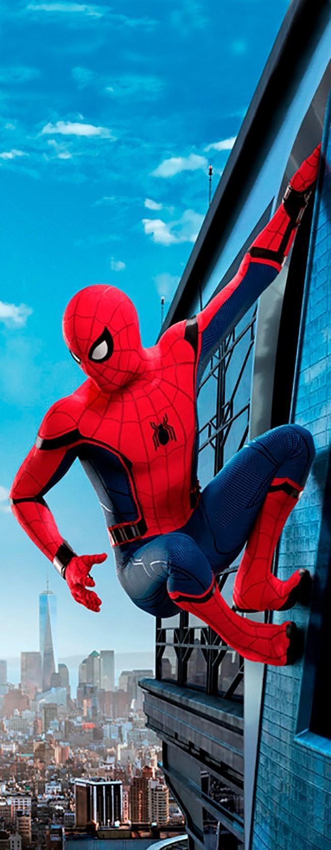 Adesivo (Sticker) Para Porta Homem Aranha: Longe De Casa - Marvel