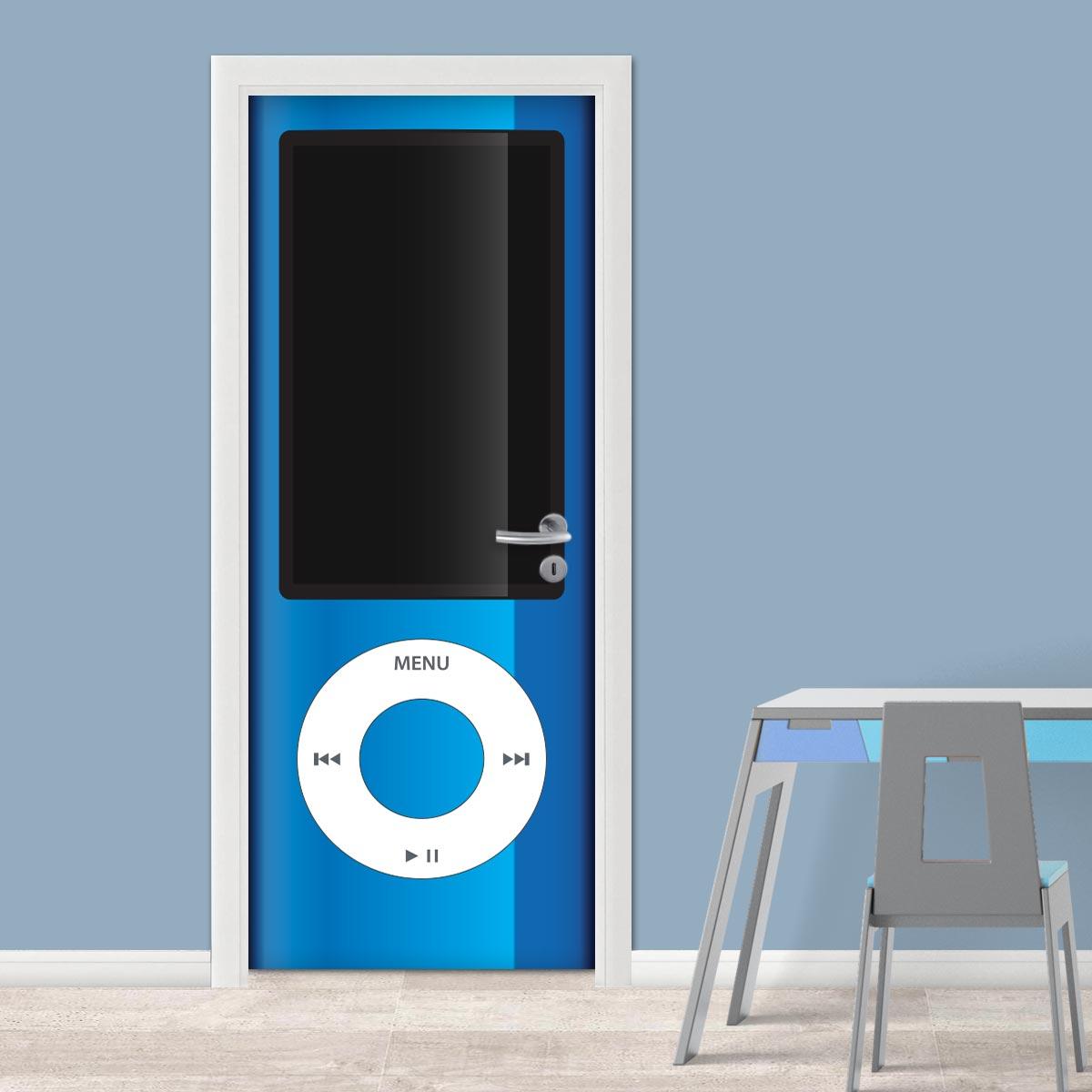 Adesivo (Sticker) Para Porta: Ipod
