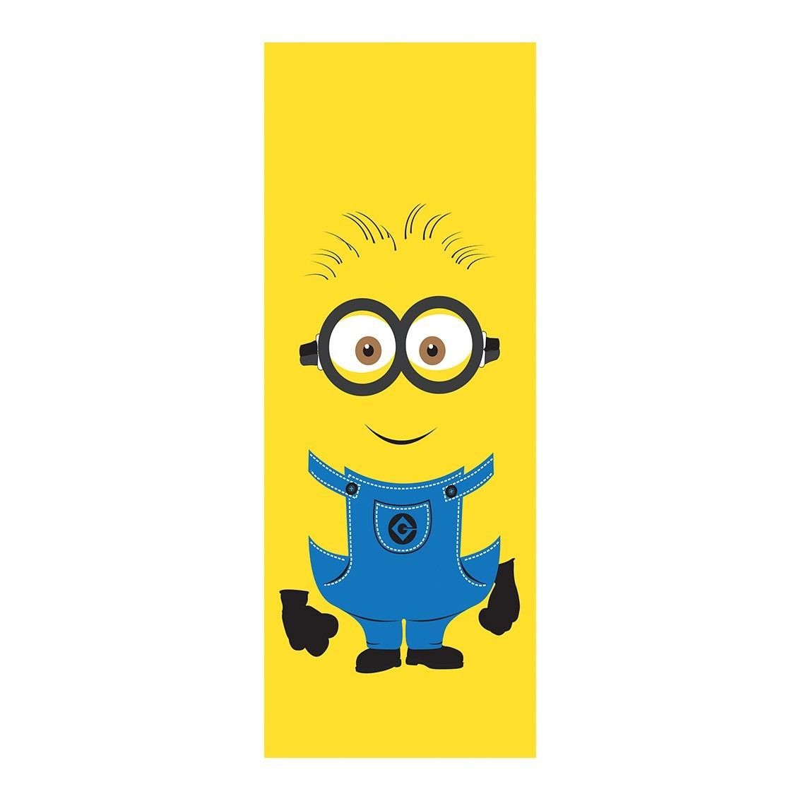 "Adesivo (Sticker) Para Porta ""Jerry"": Minion - Exclusivo"