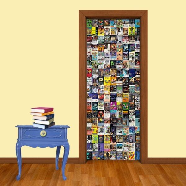 Adesivo (Sticker) Para Porta: Mini Posters