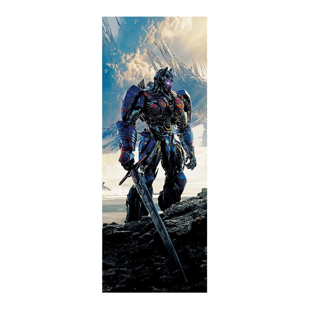 "Adesivo (Sticker) Para Porta ""Optimus Prime "": Transformers - Exclusivo"