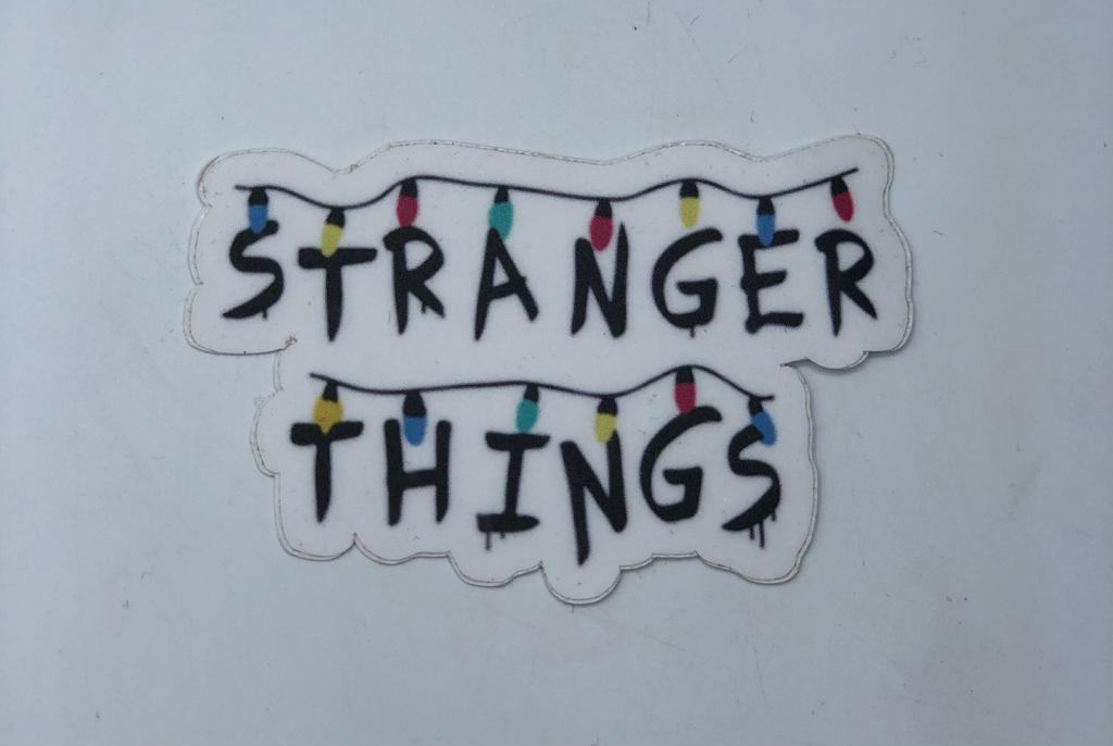 Adesivo (Sticker) Stranger Things (Luzes)