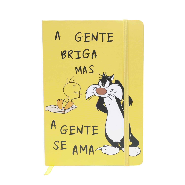 Agenda/Caderneta (A5) A Gente Briga Mas A Gente Se Ama Frajola e Piu Piu: Looney Tunes - Urban