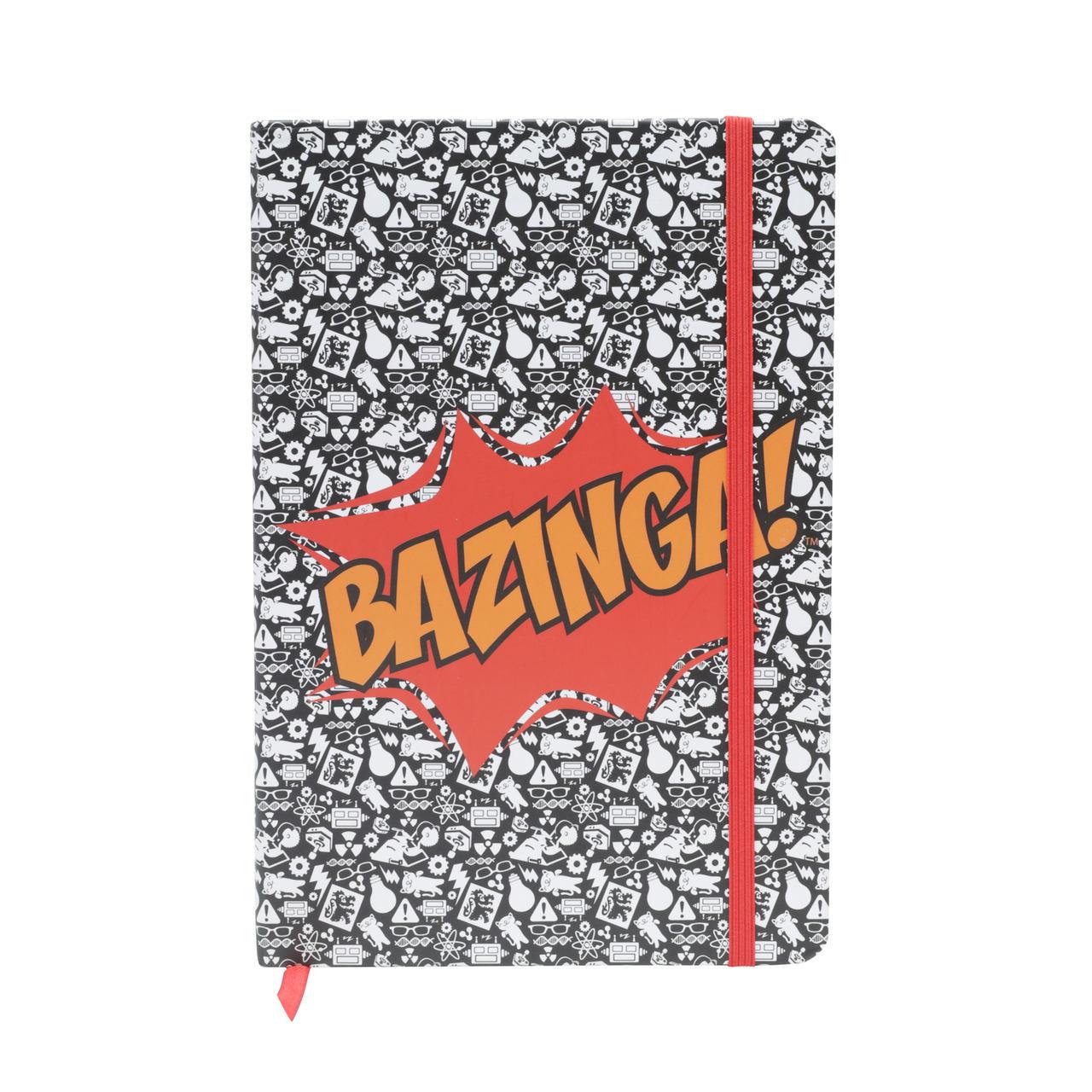 Agenda/Caderneta (A5) Bazinga: The Big Bang Theory - Urban