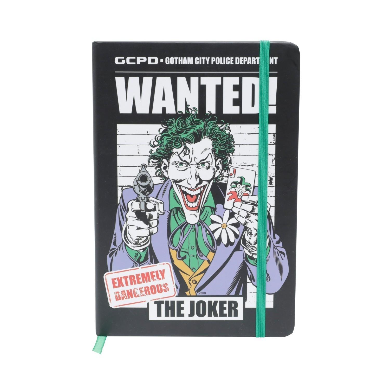Agenda/Caderneta (A5) Grande Coringa Joker: DC Comics - Urban