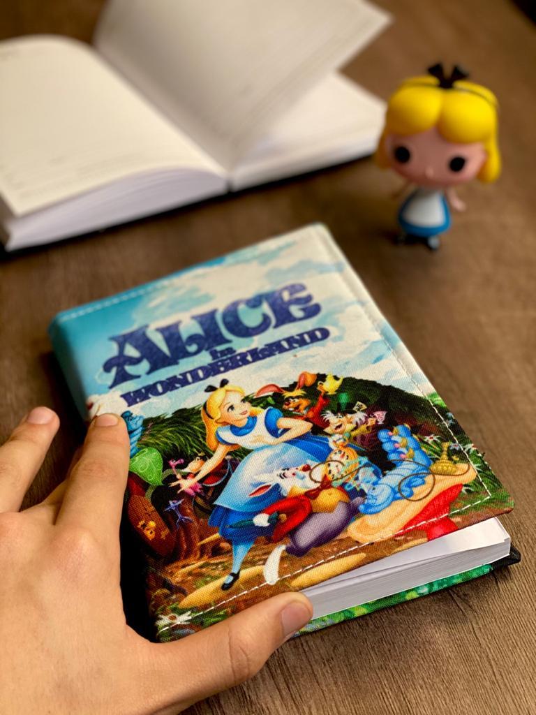 Agenda/Caderneta Alice no País das Maravilhas