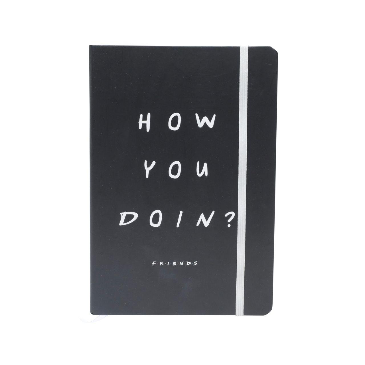 """Agenda/Caderneta de Anotação """"How You Doin"""": Friends (A5)"""