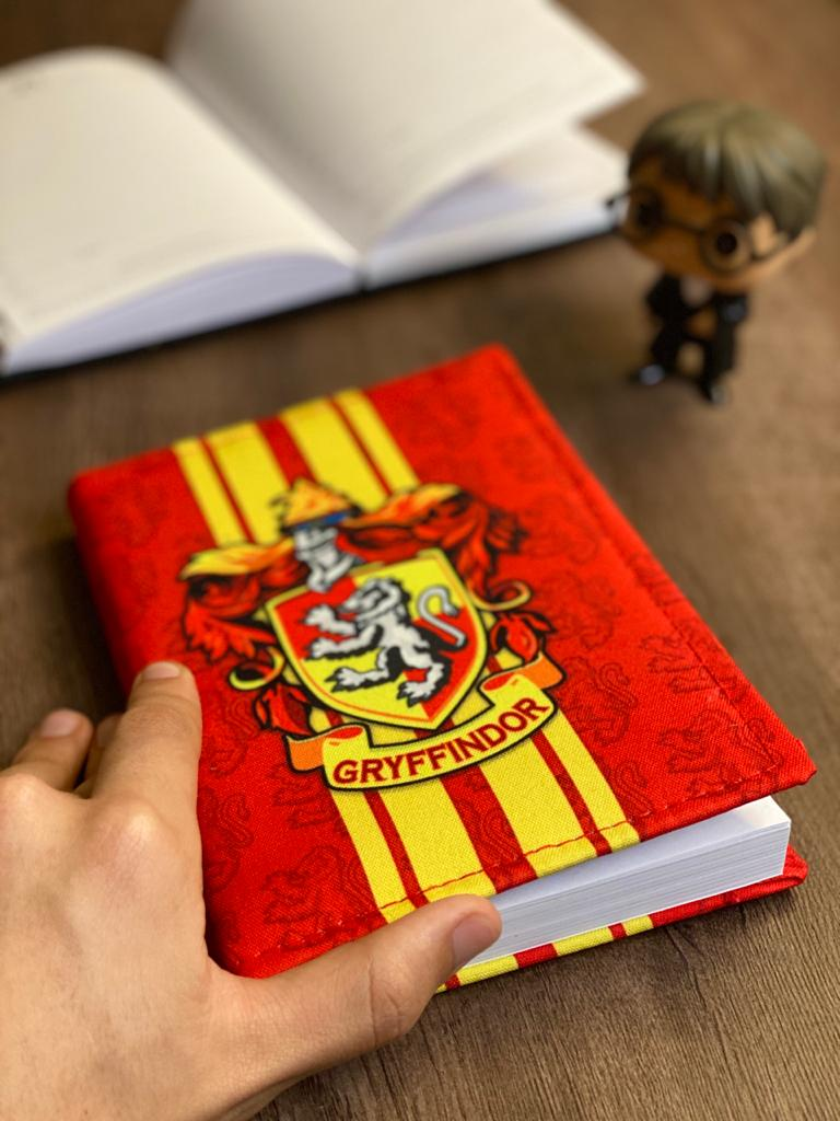 Agenda/Caderneta Grifinória (Gryffindor): Harry Potter