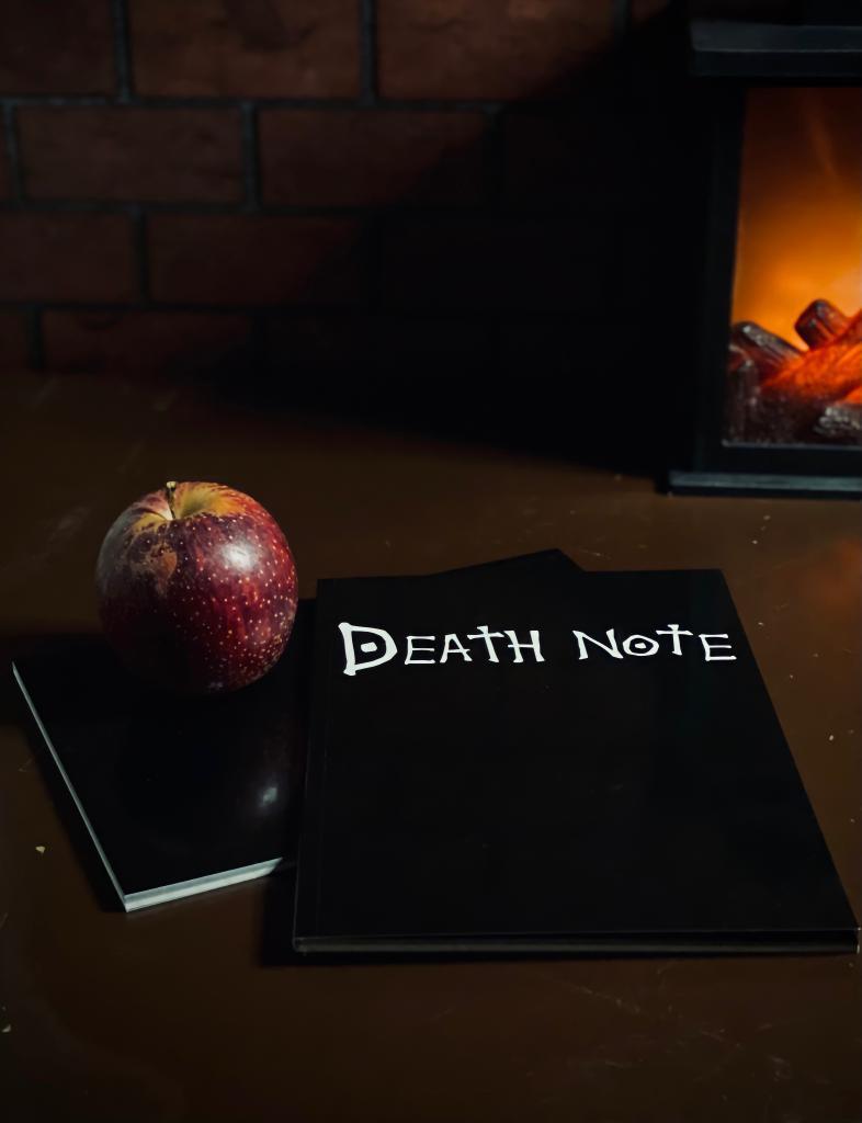Agenda/Caderneta: (Livro) Death Note - EV
