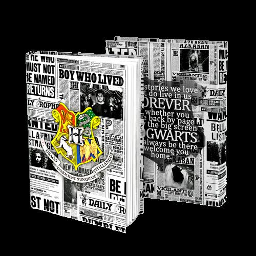 Agenda/Caderneta Profeta Diário (Hogwarts): Harry Potter