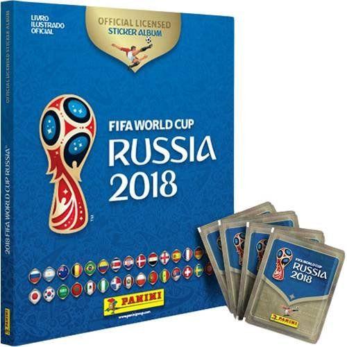 Álbum de Figurinhas Com Capa Dura: Copa do Mundo Rússia 2018 (Álbum Com Capa Dura + 60 Figurinhas) - Panini