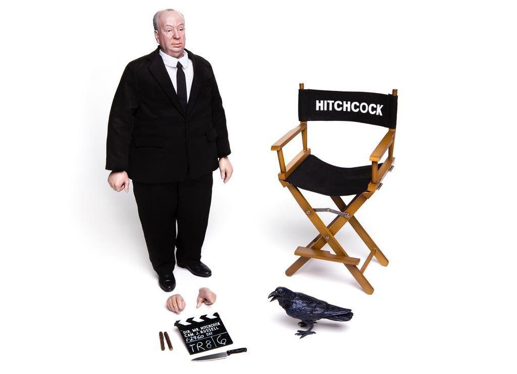 Alfred Hitchcock Escala 1/6 - Mondo Collectible