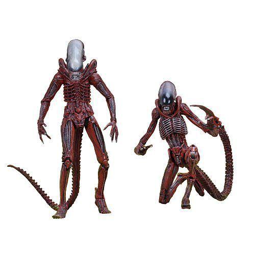 Boneco Big Chap Alien & Dog Alien: Alien Genocide Escala 1/10 (2 Pack) - NECA - CD