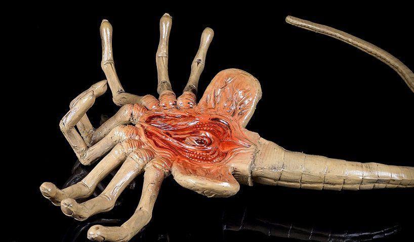 Réplica Facehugger Life Size: Alien Prop Replica Escala 1/1 - Neca - CD