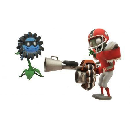 All-Star Zombie And Dark Sunflower  Plants Vs Zombies Garden Warfare - Diamond