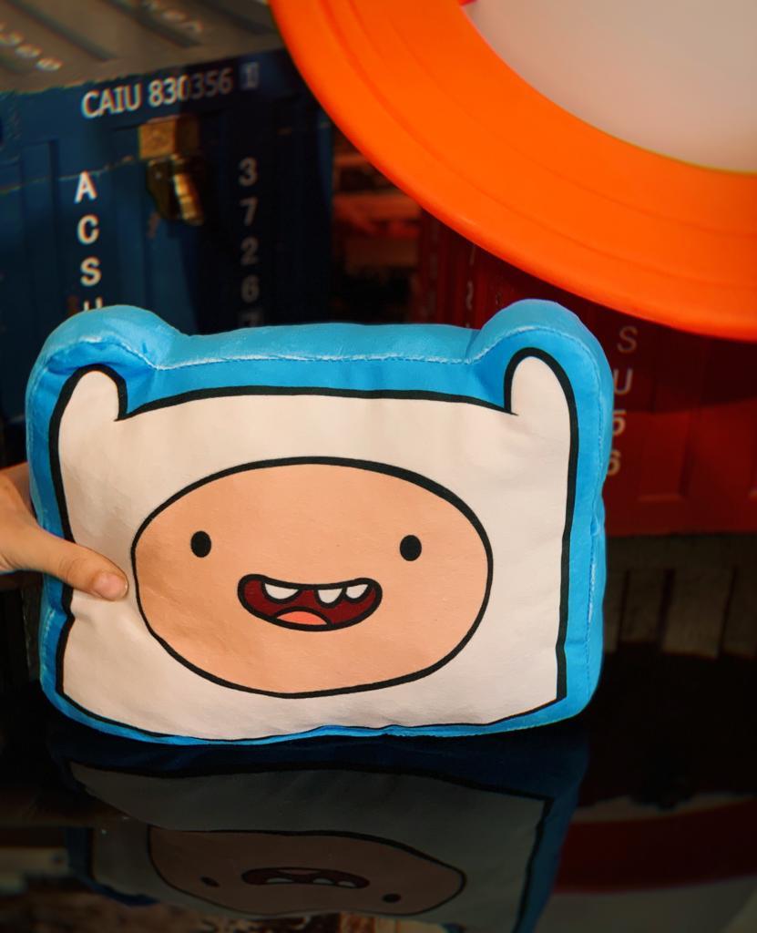 Almofada 3D Finn: Hora Da Aventura Adventure Time - EV