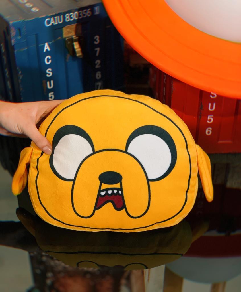 Almofada 3D Jake o Cachorro: Hora Da Aventura Adventure Time - EV