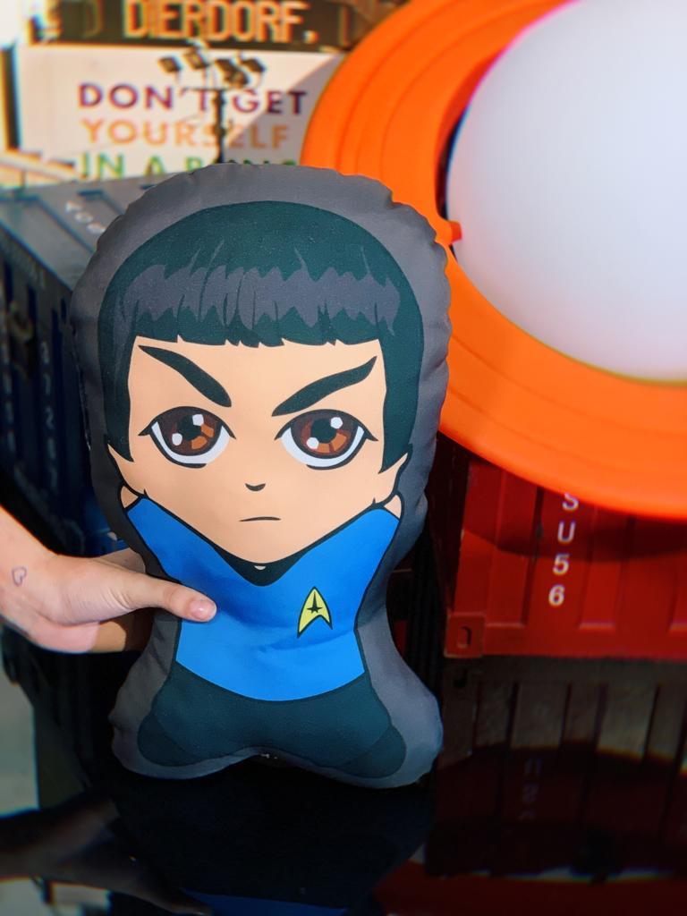Almofada 3D Spock: Star Trek Jornada nas Estrelas - EV