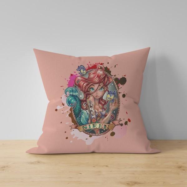 Almofada Princesa Ariel: A Pequena Sereia - Disney - EV