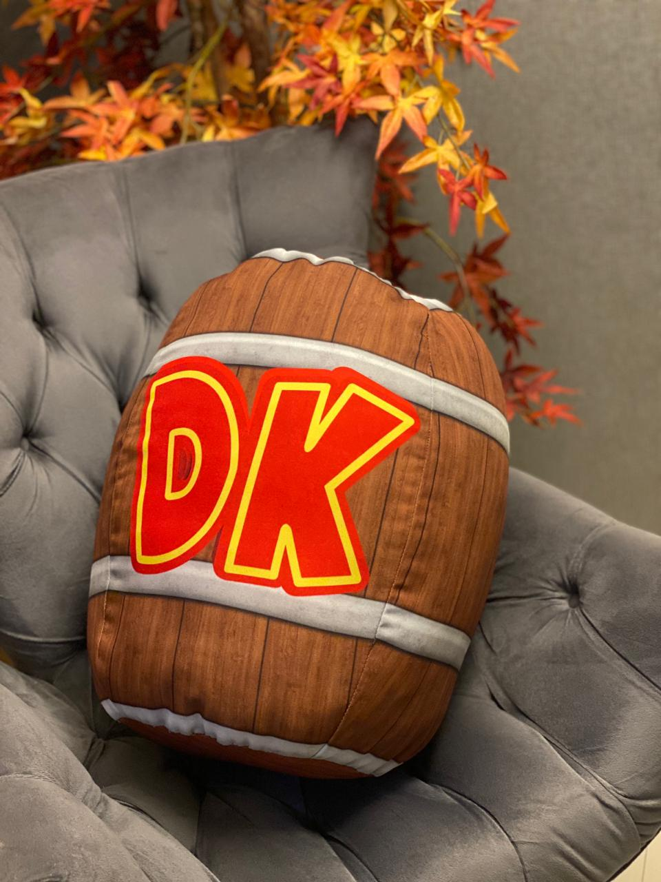 Almofada Barril:  DK - Donkey Kong