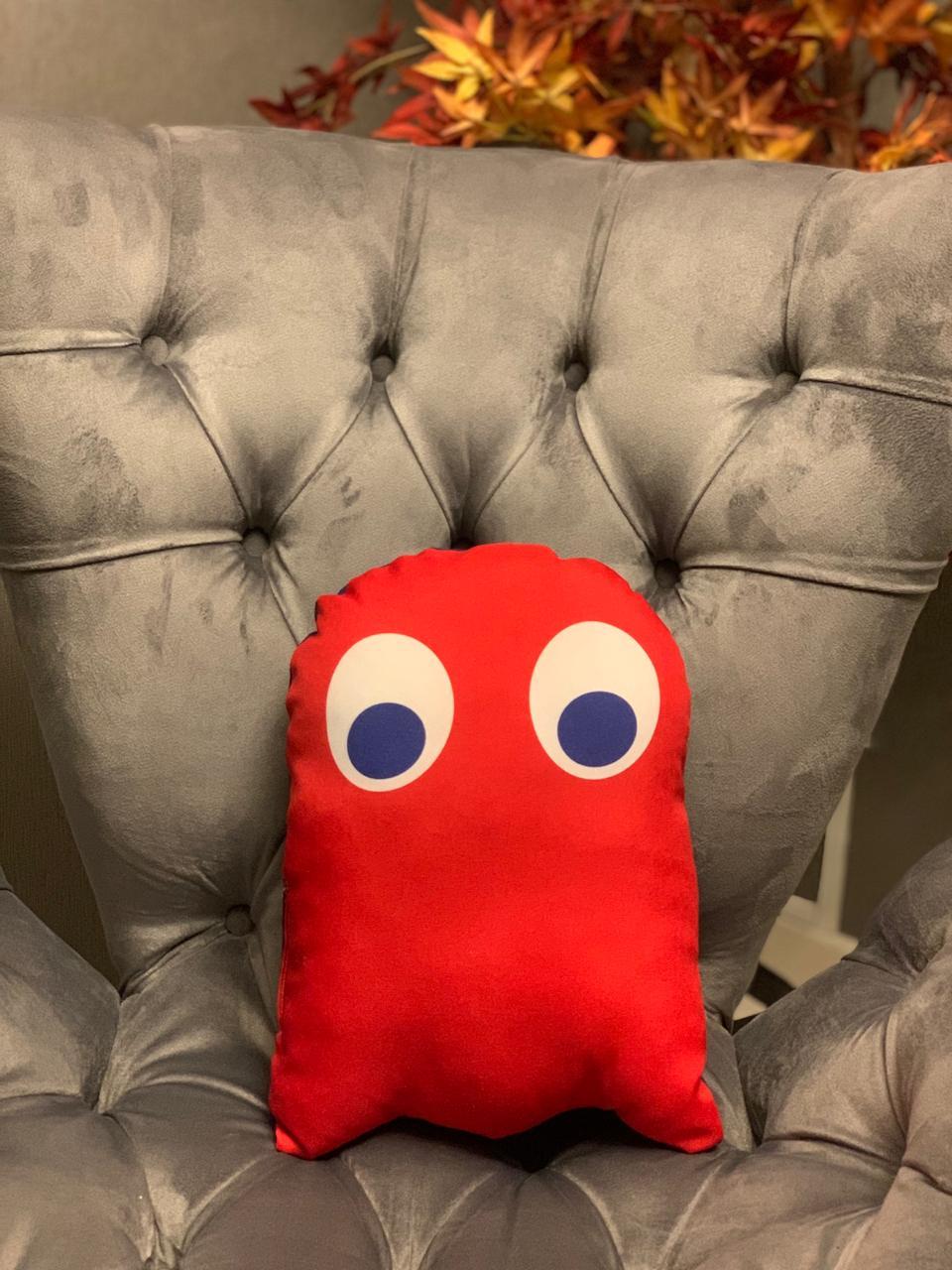 Almofada Blinky Fantasma Vermelho : Pac-Man - SD