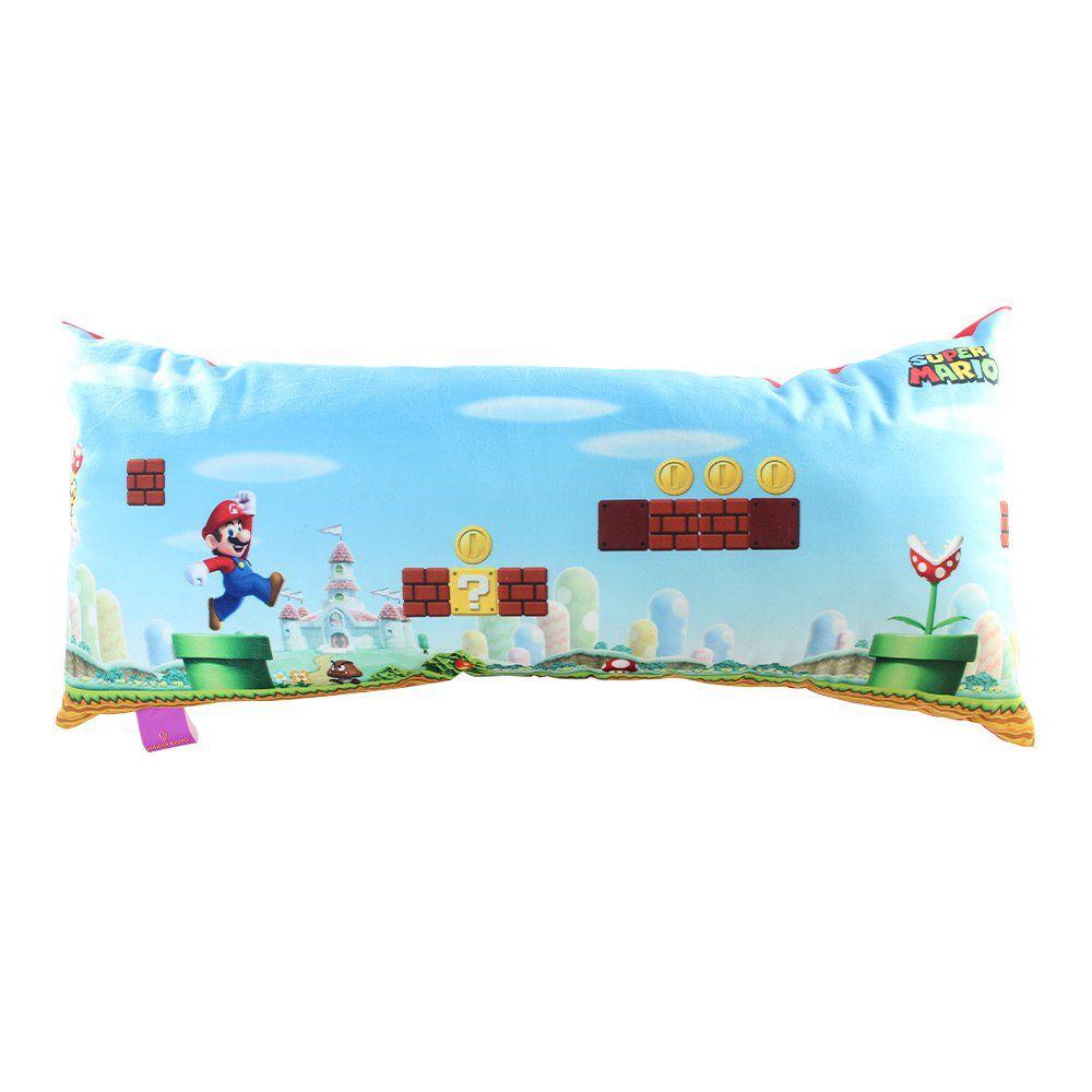 Almofada Cenário Mario: Super Mario