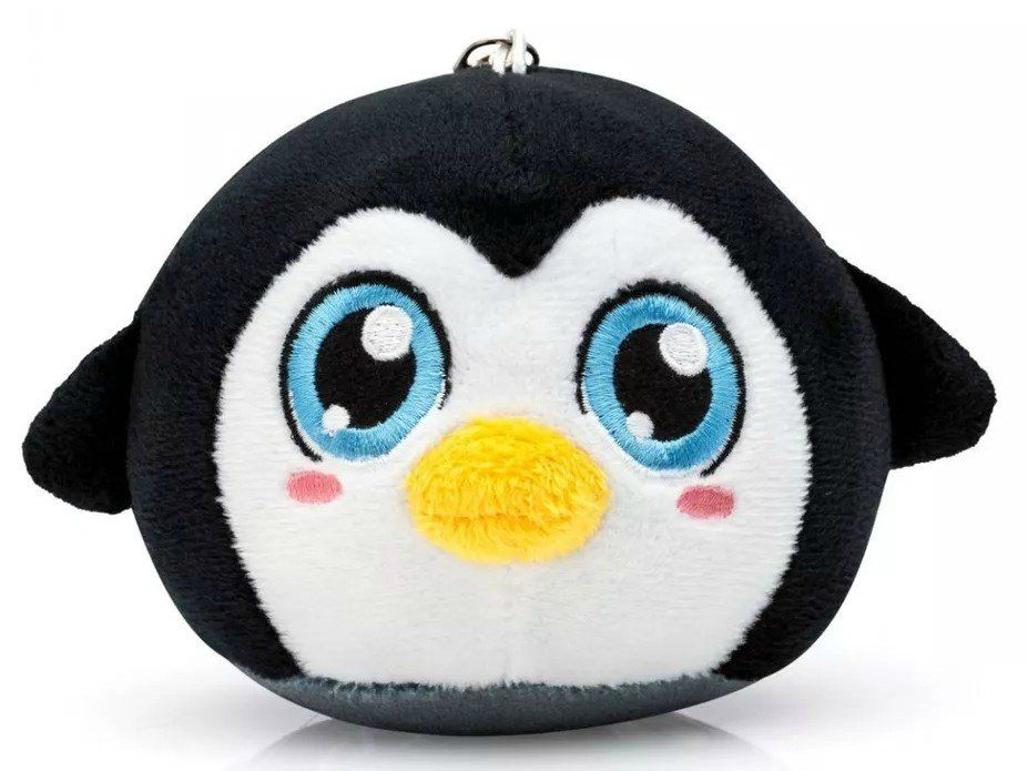Almofada Chaveiro Pompets: Pinguim