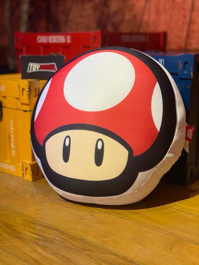 Almofada Cogumelo (Vermelho): Super Mario Bros