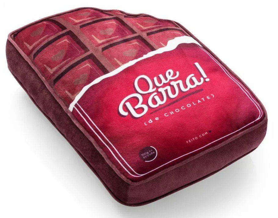 Almofada Com Bolso: Love Chocolate