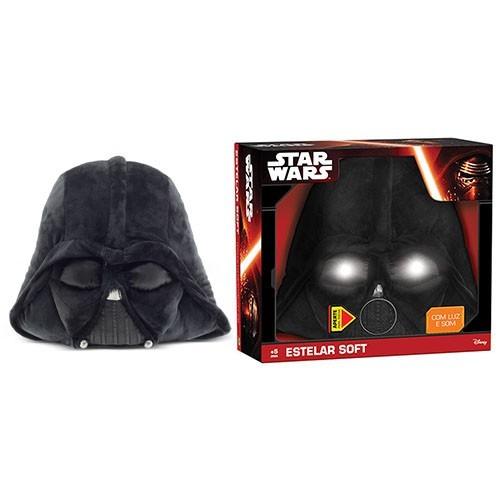 Almofada Darth Vader Star Wars ( Com luz e som ) - DTC