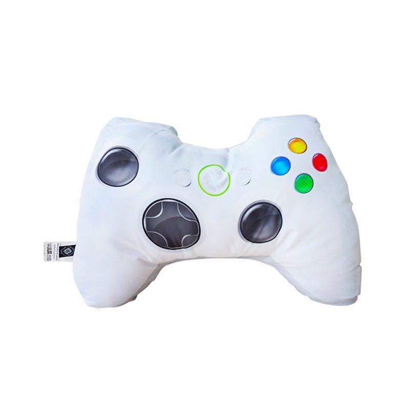 Almofada Controle de Vídeo Game (Branca)