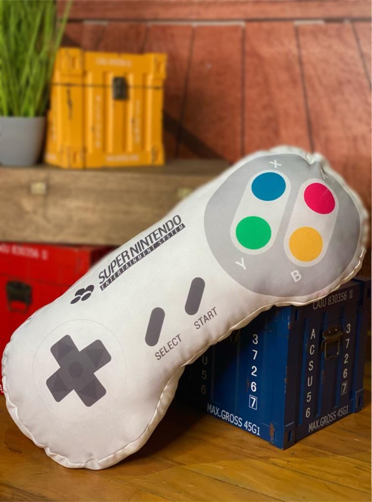 Almofada Controle: Super Nintendo (SNES) Grande