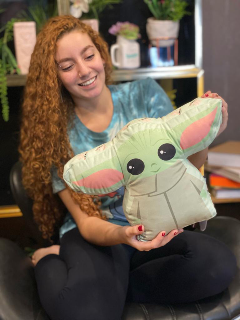 Almofada Corpo Grogu Baby Yoda (The Child): The Mandalorian - Disney