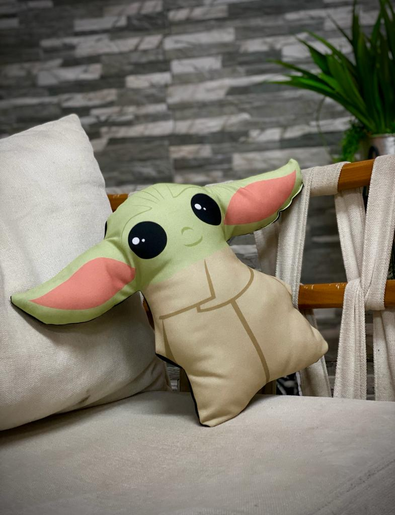 Almofada Corpo Grogu Baby Yoda (The Child): The Mandalorian Pequeno - Disney