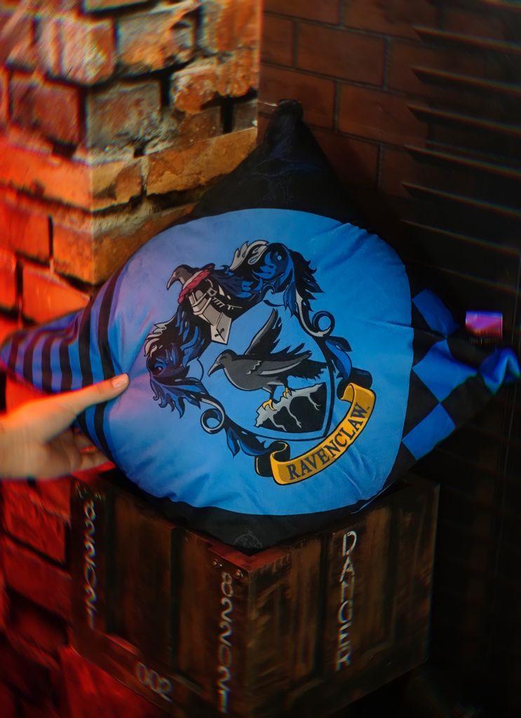 Almofada Corvinal Ravenclaw Hogwarts: Harry Potter - Zona Criativa