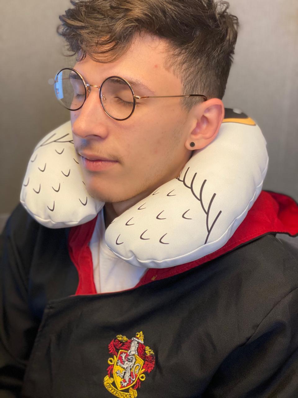 Almofada de pescoço: Edwiges: Harry Potter - EV