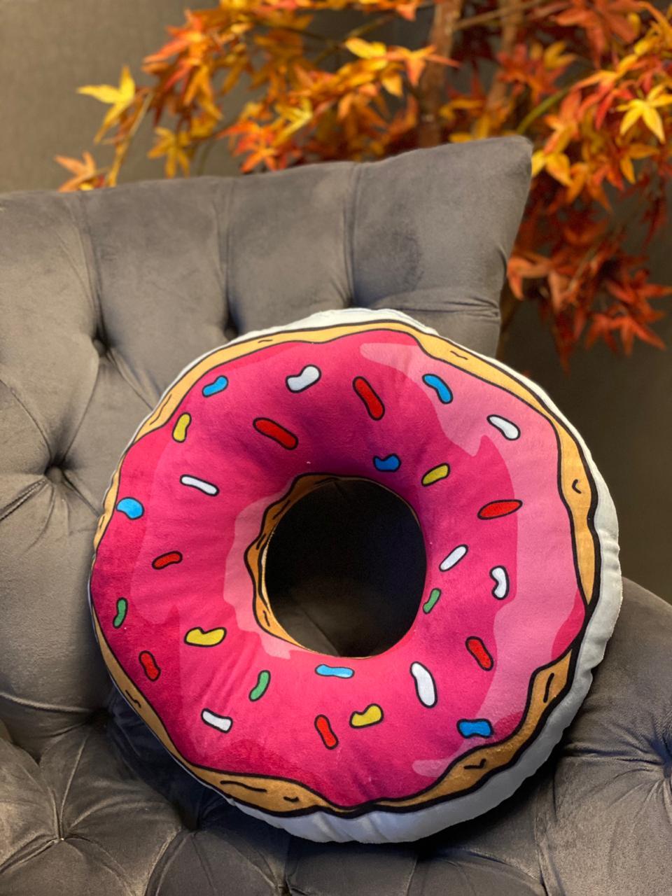 Almofada Donuts Rosquinha Homer Simpson