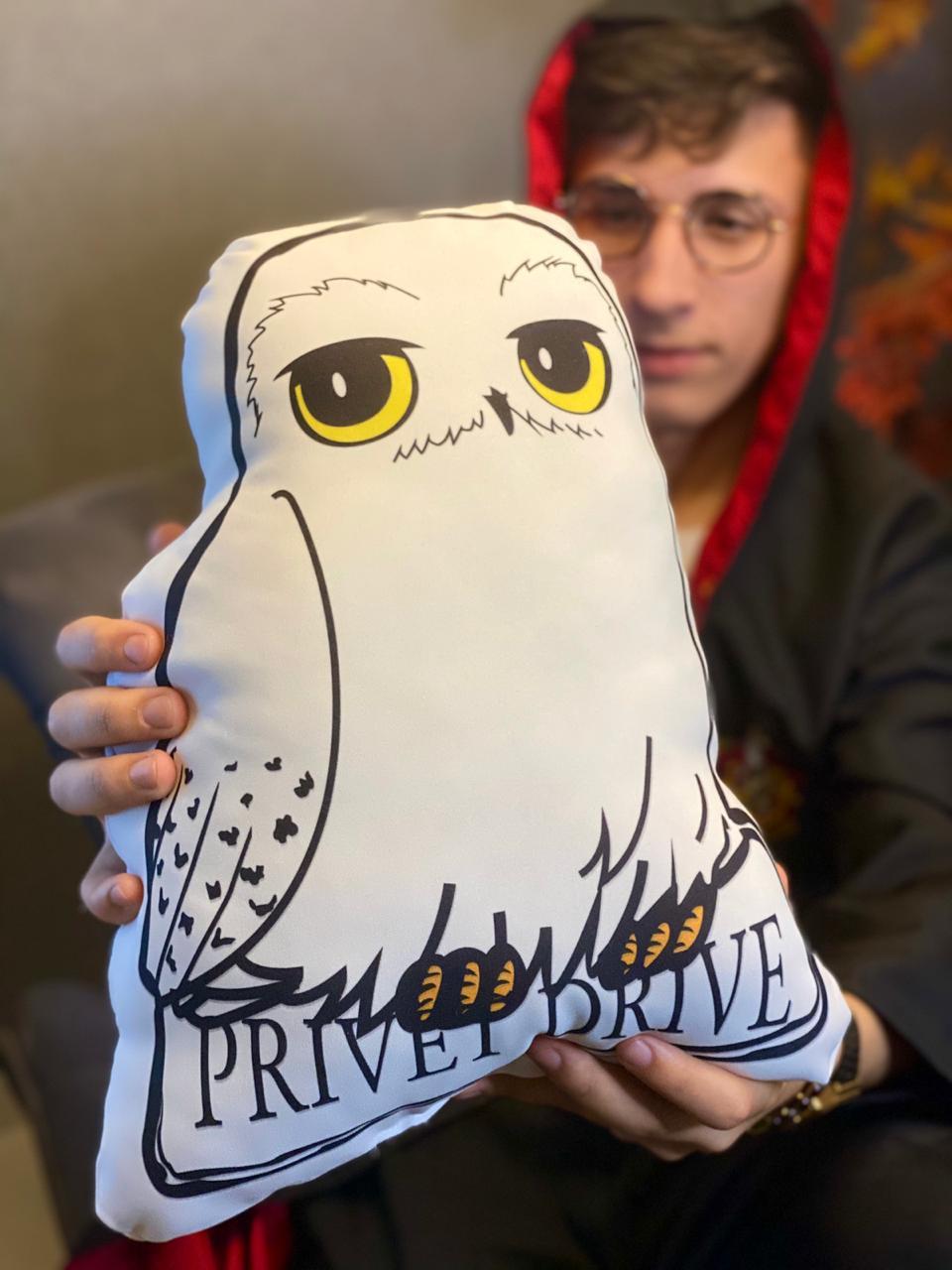 Almofada Edwiges: Harry Potter