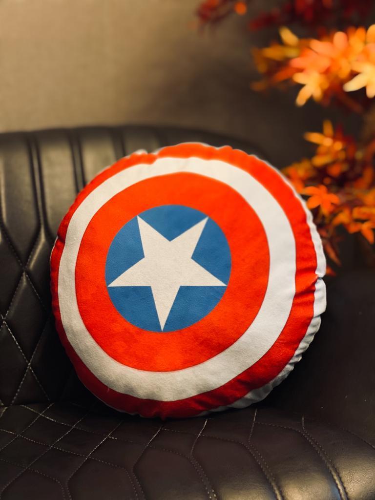 Almofada Escudo Capitão América: Marvel