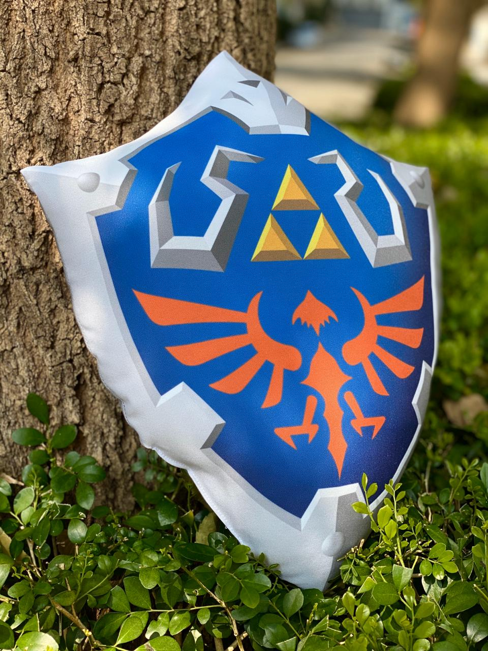 Almofada Escudo Hylian: A Lenda de Zelda (The Legend of Zelda)