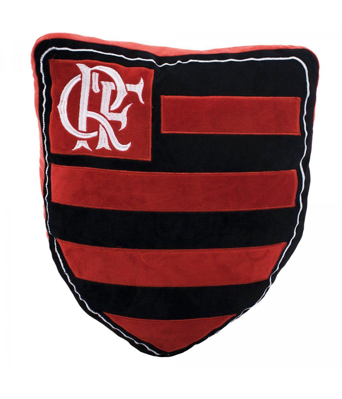 Almofada Flamengo Brasão