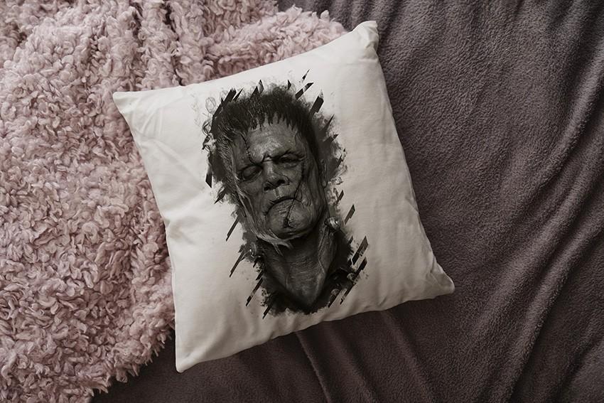 Almofada Frankenstein (Branca)