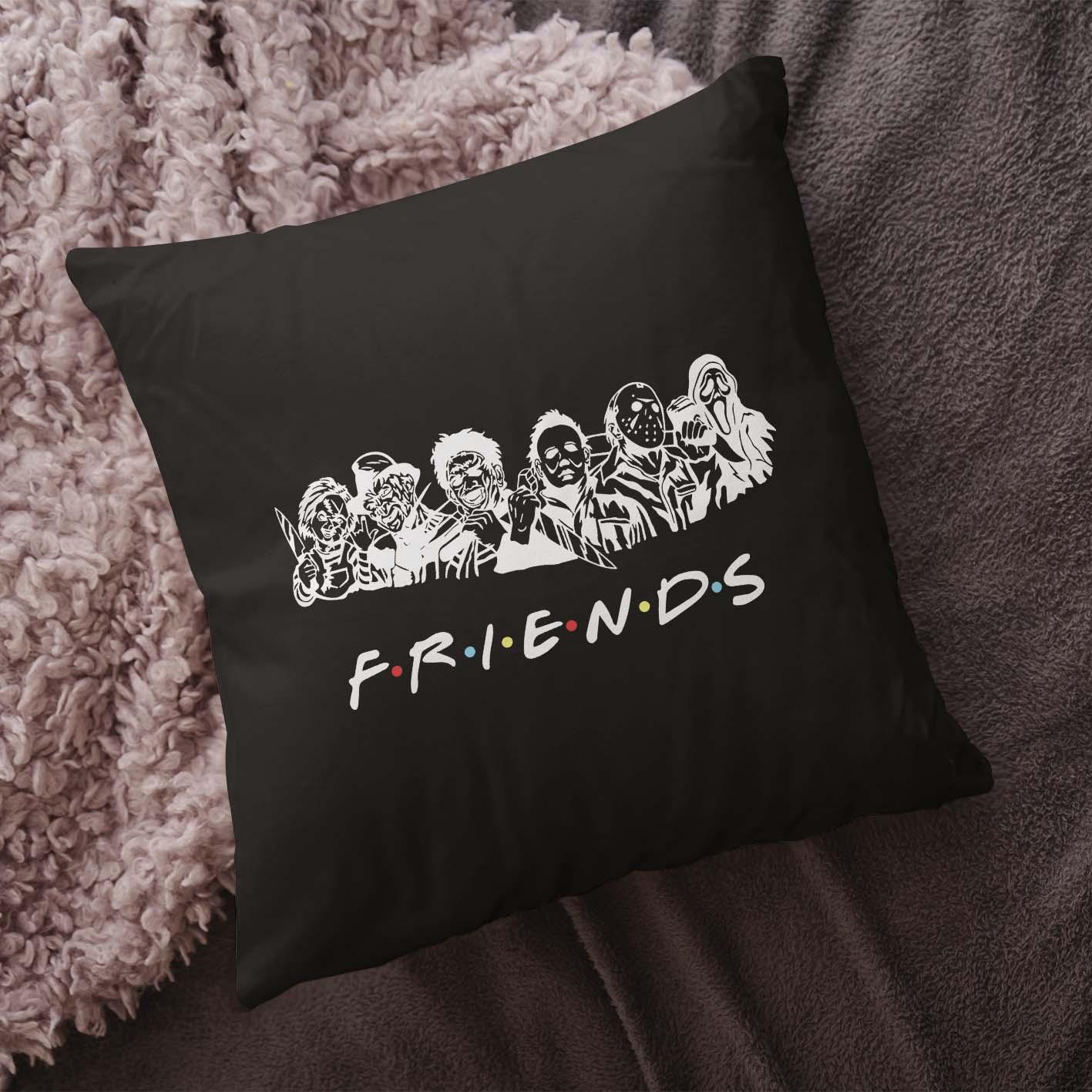 Almofada Friends Halloween Horror (Preta) - EV