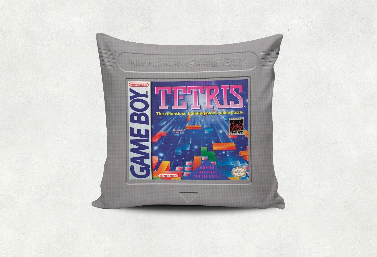 Almofada Games Tetris Cartucho Game Boy - SD - EV