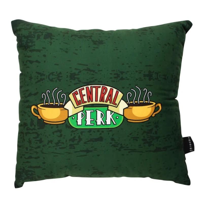 Almofada Geek Central Perk: Friends Verde e Preto