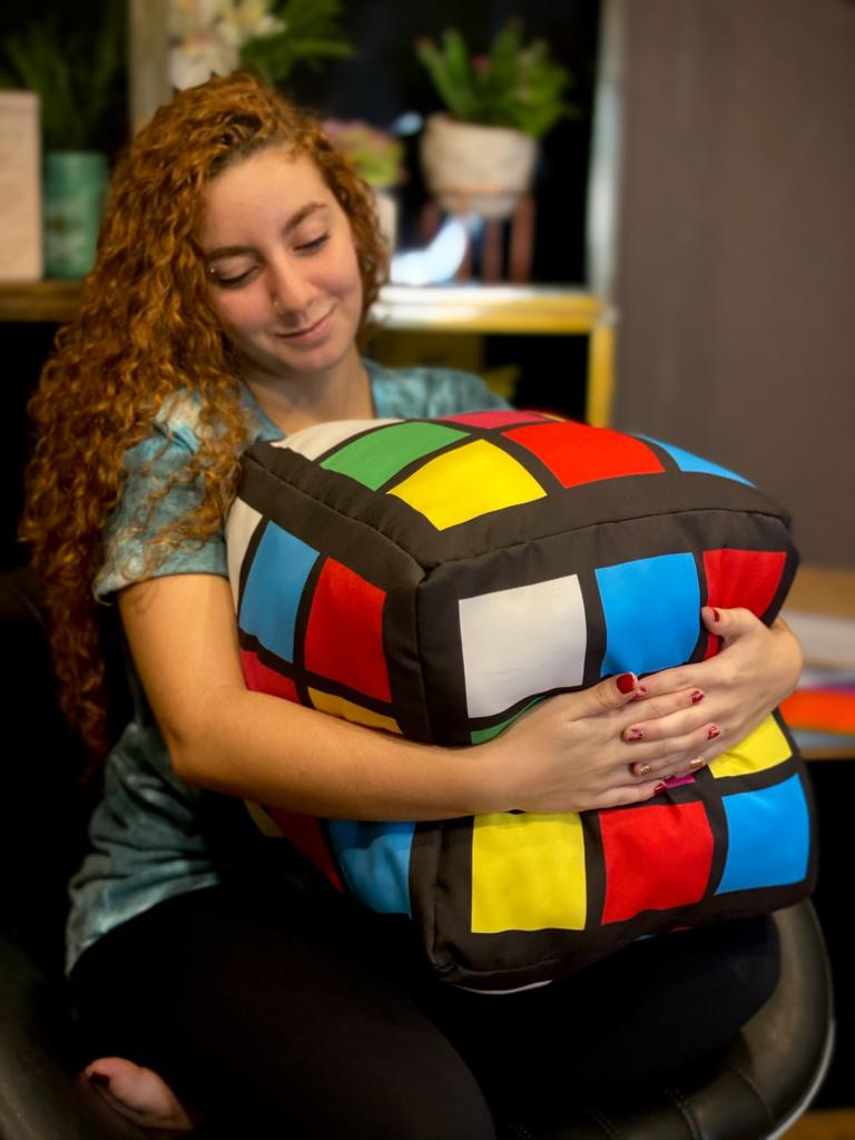Almofada Geek Cubo Mágico