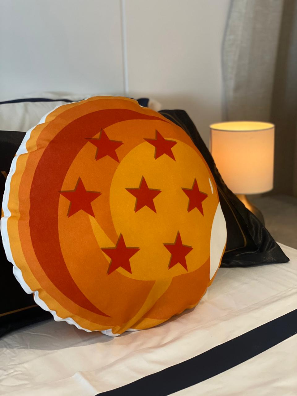 Almofada Geek: Esfera do Dragão ( 7 Estrelas ) - Dragon Ball