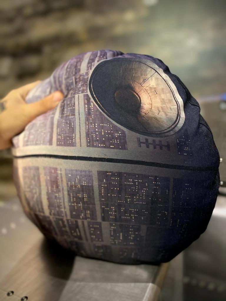 Almofada Geek Estrela da Morte: Star Wars