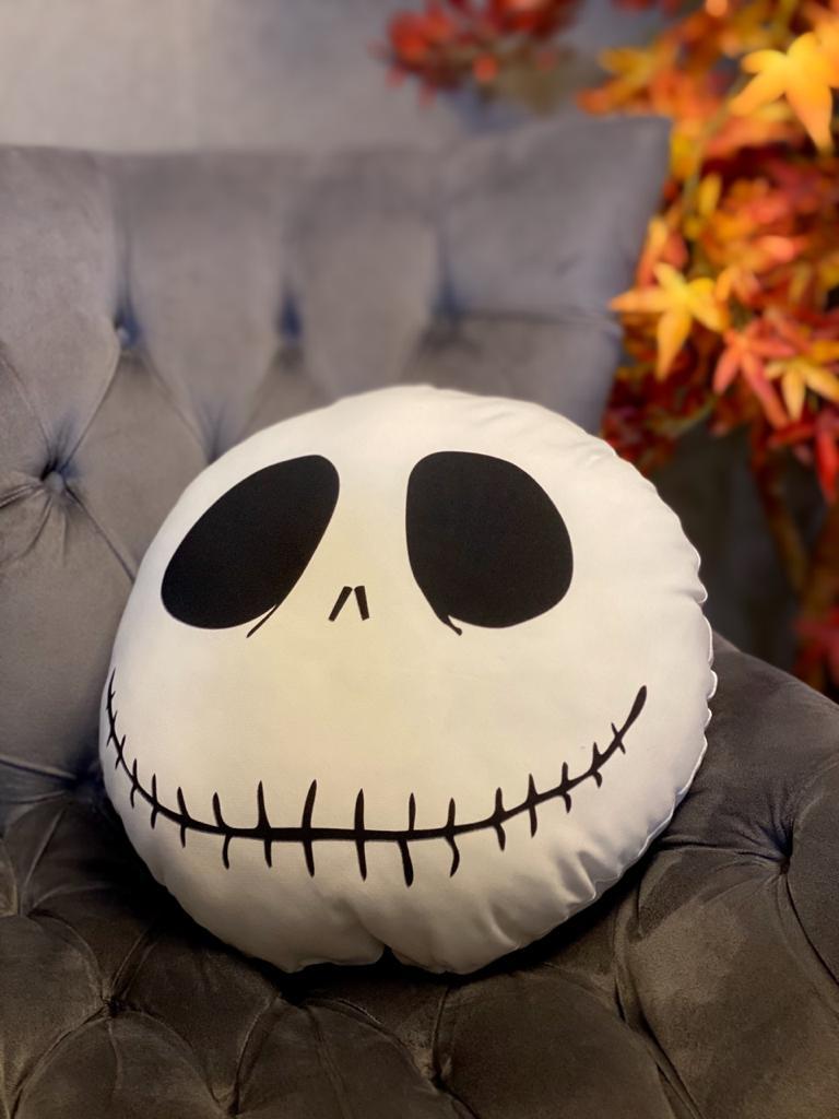 Almofada Geek: Jack Skellington: O Estranho Mundo de Jack (The Nightmare Before Christmas) Disney - EV
