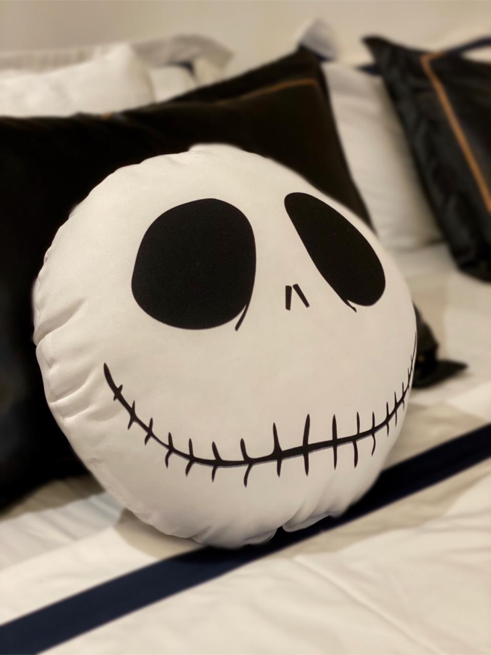 Almofada Geek: Jack Skellington: O Estranho Mundo de Jack (The Nightmare Before Christmas) Disney
